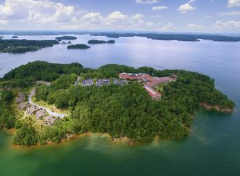 Lake Lanier Legacy Lodge island