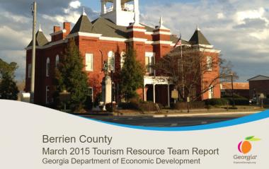 Berrien County TPD report cover