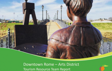 Rome Arts District TPD Report cover