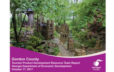 Gordon County TPD Report Cover