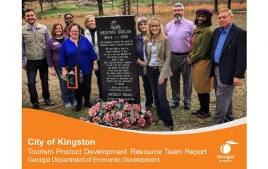 Kingston Tourism Product Development Resource Team Report cover