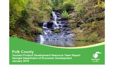 Polk County TPD Resource Team Report Cover
