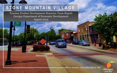 Stone Mountain Village TPD Report cover