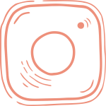 Peach Instagram Icon